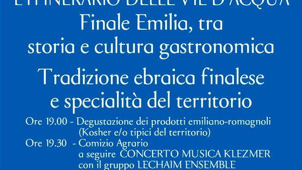 Gastronomia, il viaggio dell'Emilia Romagna verso Expo arriva a Finale Emilia