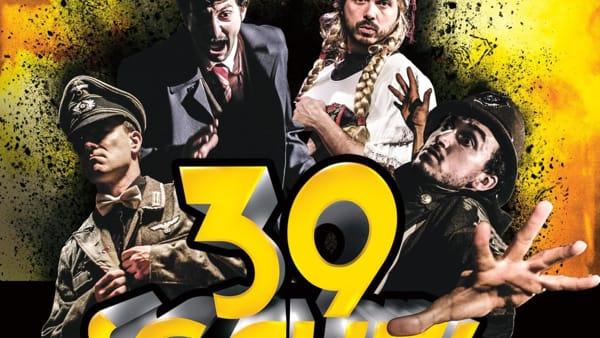 """Al Teatro Michelangelo arriva """"39 scalini"""",Cattive Compagnie porta in scenaAlfred Hitchcock"""