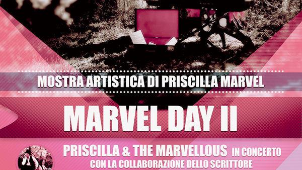 Arte e musica con Priscilla Marvel al Salotto Agazzotti