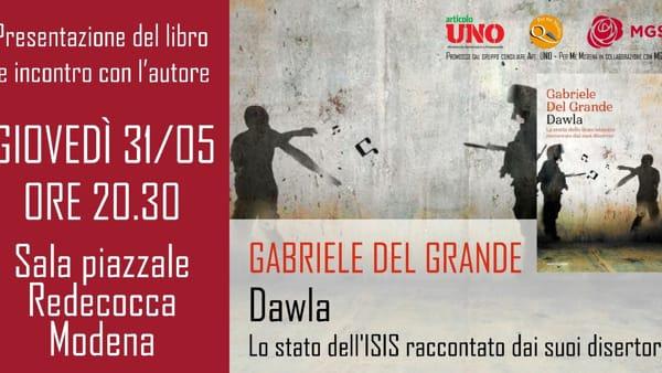 A Modena il libro di Gabriele Del Grande, imprigionato lo scorso anno in Turchia