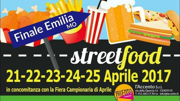 Street Food per tutti i gusti alla Fiera di Finale Emilia