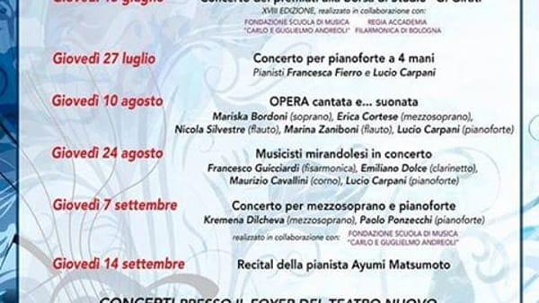 """A Mirandola """"Opera cantata e… suonata"""""""