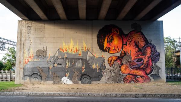 """""""Il muro di San Faustino"""" si colora per i 94 anni della Polisportiva, open day e tante iniziative"""