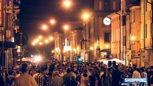 Notte bianca a Castelfranco Emilia