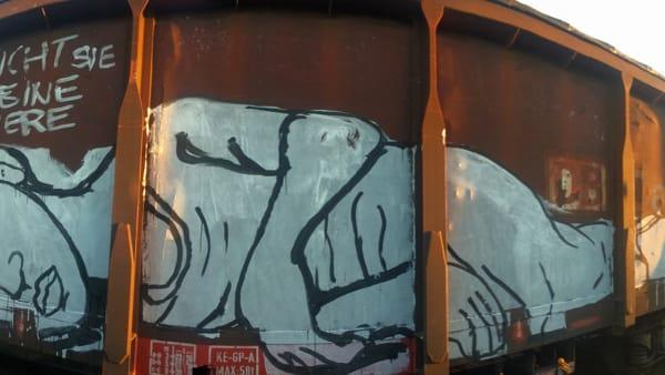 """""""Keine Papiere. Senza le carte di identità"""", in mostra la street art che diventa impegno sociale"""