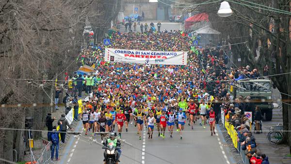 Corrida di San Geminiano 2019, al via cinquemila atleti
