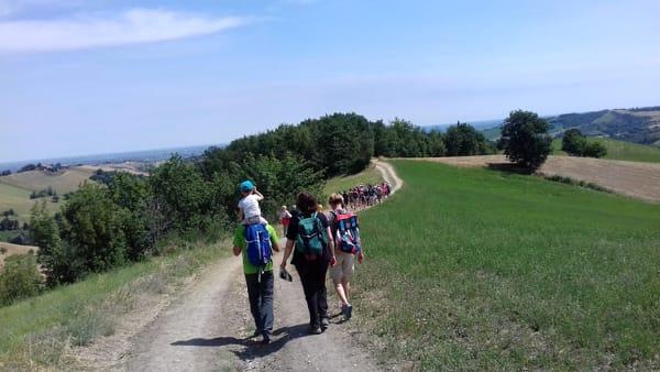 """""""Via dei Vulcani di Fango"""", una camminata culturale nelle colline tra Sassuolo e Spezzano"""