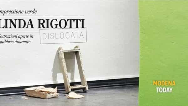 """""""Linda Rigotti, Impressione Verde"""" allo spazio Dislocata di Vignola"""