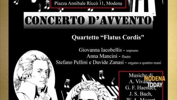 """Concerto d'Avvento nella chiesa di Sant'Agnese con il Quartetto """"Flatus Cordis"""""""
