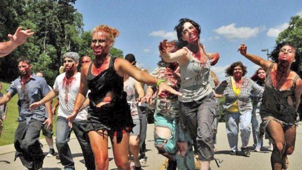 Zombitalia Run, in fuga dai 'non-morti' ai laghetti di Campogalliano