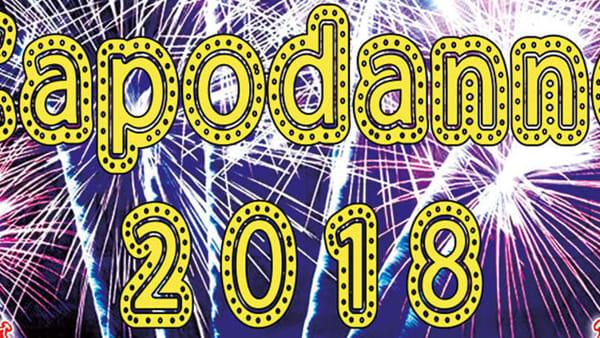 Brindisi per il 2018 a teatro con il Musical Circus