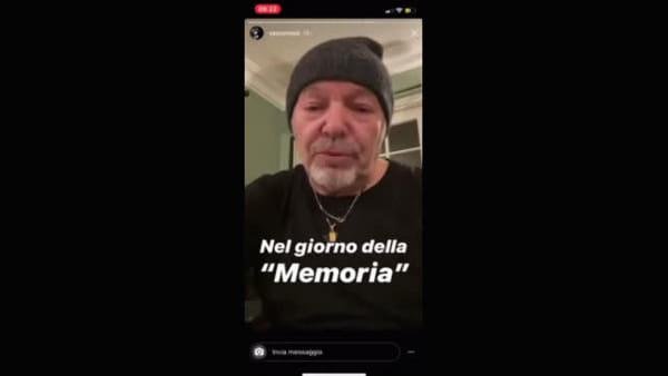 IL VIDEO | Vasco ringrazia per la Medaglia d'Onore concessa al papà