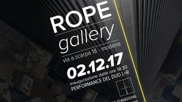 Arte, inaugura in via della Scarpa la ROPE Gallery, galleria d'arte contemporanea
