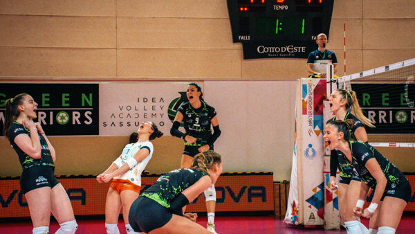 Volley, la Green Warriors Sassuolo torna in campo dopo un mese