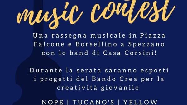 """A Spezzano prima edizione del """"Crea Music Contest"""", rassegna di artisti locali"""