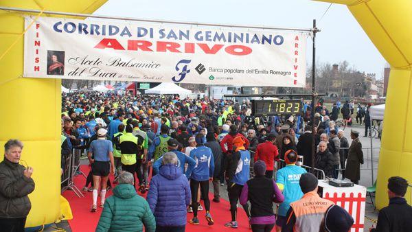 Corrida di San Geminiano, iscrizioni fino a quota cinquemila