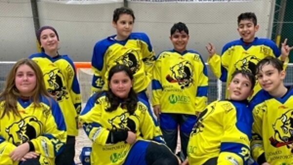 Hockey in line, Scomed Bomporto vince a debutto in campionato