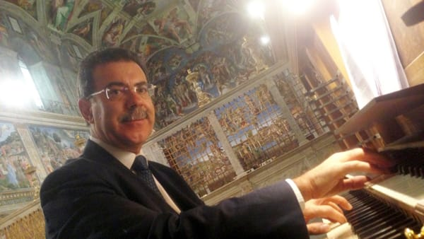 L'organista del Papa nella Chiesa di Sant'Agnese