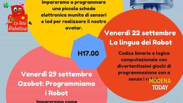 Laboratori di robotica creativa 8-12 anni