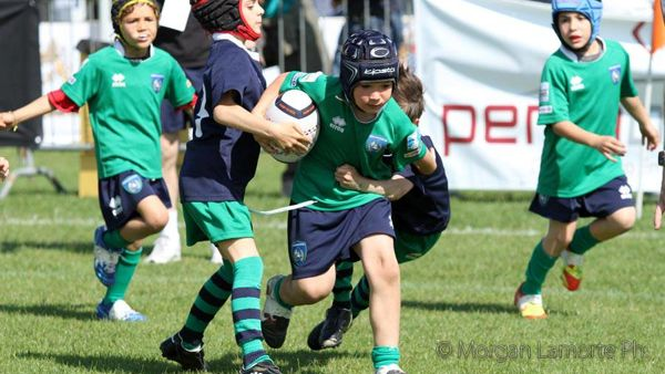 Modena Junior Rugby in campo ricordando Almer Berselli