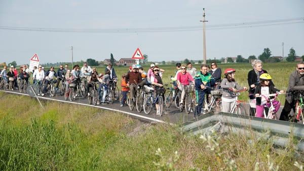 Festa della Liberazione a Soliera con la tradizionale biciclettata