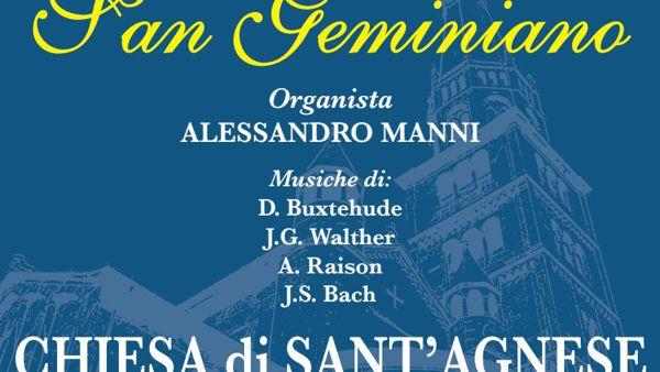 """Domenica, Modena, """"Concerto per organo di San Geminiano"""""""
