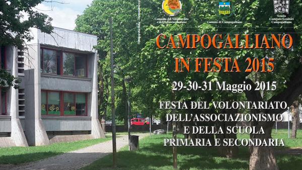 Campogalliano, torna la festa del volontariato, associazionismo e della scuola