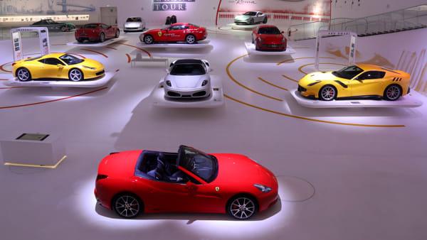 """Al MEF la mostra """"Ferrari Grand Tour"""", un viaggio ideale fra i cinque continenti"""