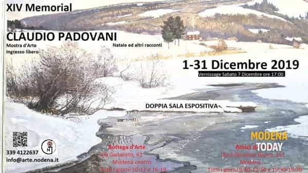 Alla Bottega d'Arte il 14° Memorial Claudio Padovani
