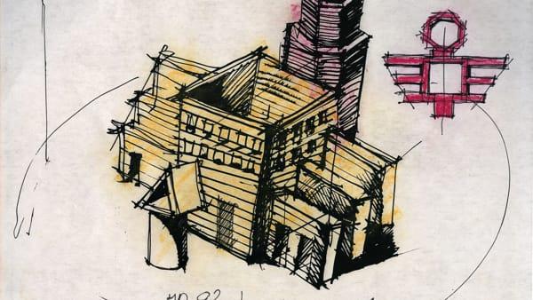 """La """"Macchina modenese"""" di Aldo Rossi in mostra nello spazio dell'ex Aem"""