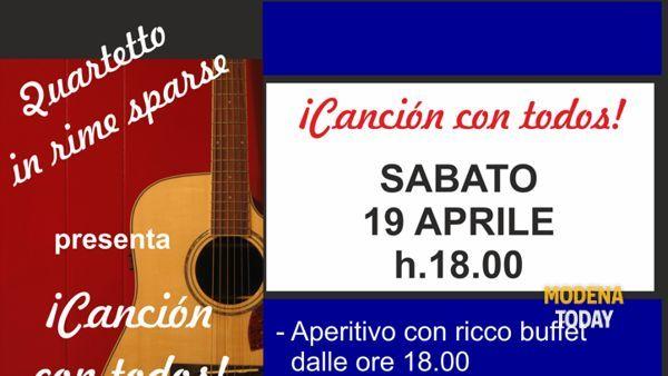Aperitivo in musica e poesia in lingua spagnola