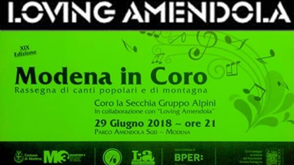 Modena in Coro, esibizioni corali al Parco Amendola