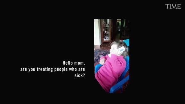 VIDEO | In prima linea contro il virus, una coppia di medici modenesi su Time