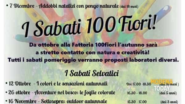 """Alla Fattoria tornano """"I sabati 100fiori"""""""